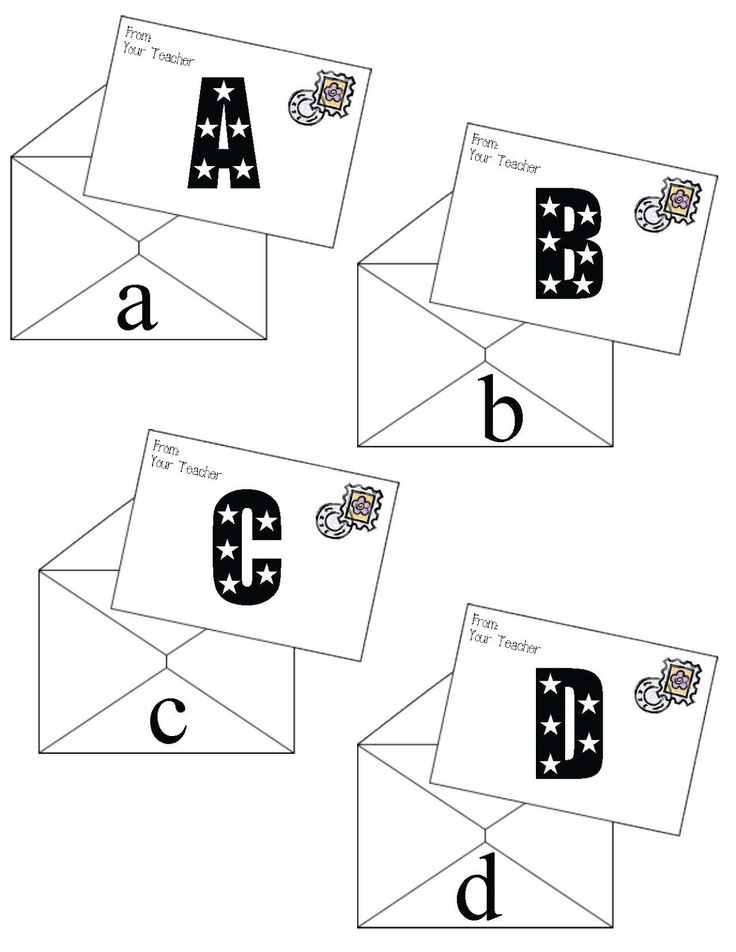 Classroom Freebies: Letter Letters