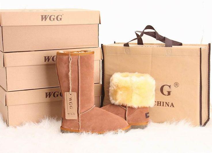 Botas de neve WGG alta qualidade mulheres de salto Botas genuíno couro de vaca sapatos de inverno Botas Femininas tamanho grande 40 45 em Botas - Masculino de Sapatos no AliExpress.com   Alibaba Group