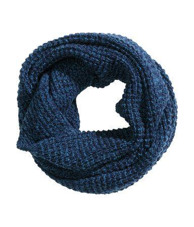 Rib-knit Tube Scarf - $7.95
