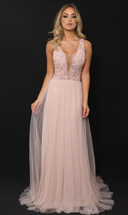 d71e28109 Inspiração: vestidos rosa para madrinhas! | dresses | Vestido rosa ...