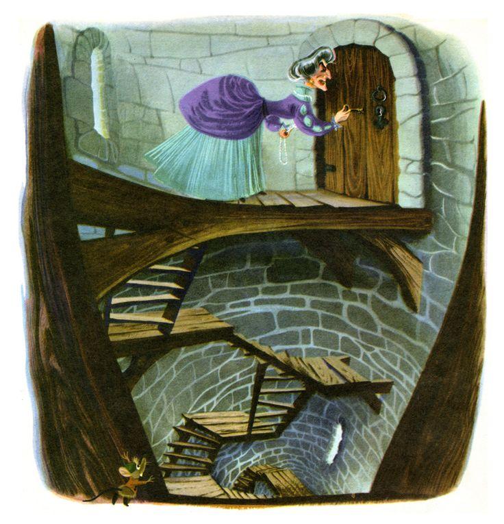 """""""Walt Disney's Cinderella"""" Golden Book, Illustrated by Retta Scott (1950)"""