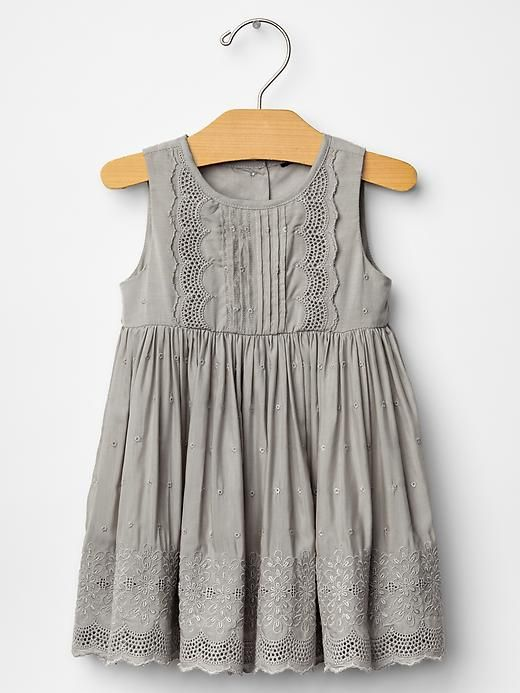 Eyelet party dress ziani is going to look so gorgeous in this ! Doing holiday pics with this one