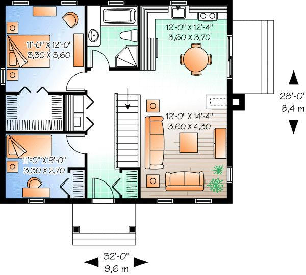 House Plan No.140213 House Plans by WestHomePlanners.com