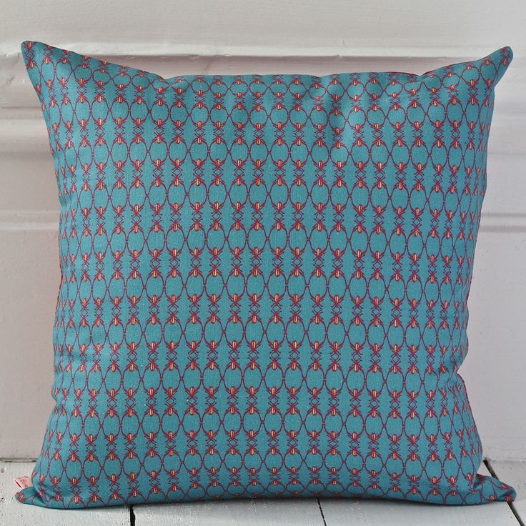 Polka Dot Beetle Cushion  {Available reversible or as a single print}