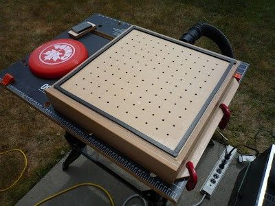 Vacuum Former By Colin Longpre    Homemade Vacuum Former Constructed From A  Patio Heater,