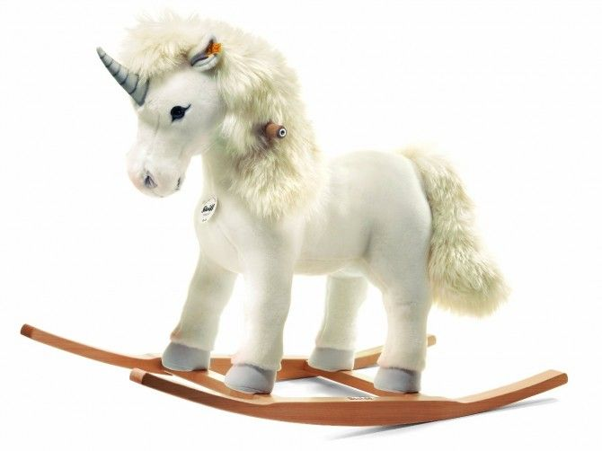 Steiff Starly Riding Unicorn Rocking Horse