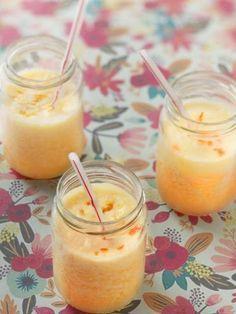 Smoothie aux oranges - Recette de cuisine Marmiton : une recette