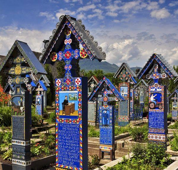 Merry Cemetery - Romania / 1