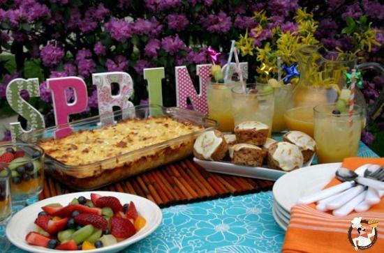 Easter Brunch Recipes: Breakfast Casseroles, Easter Recipes, Fruit Salad, Gifts Ideas, Brunch Recipes, Cranberries Muffins, Easter Brunch, Parties Food, Easter Ideas