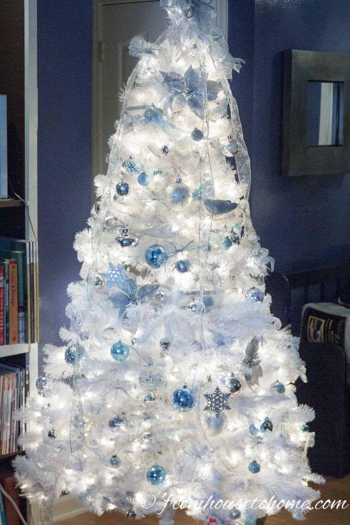 Glam Christmas Tree Decorating Ideas Glam Christmas Tree Glamorous Christmas Tree Christmas Tree Decorations