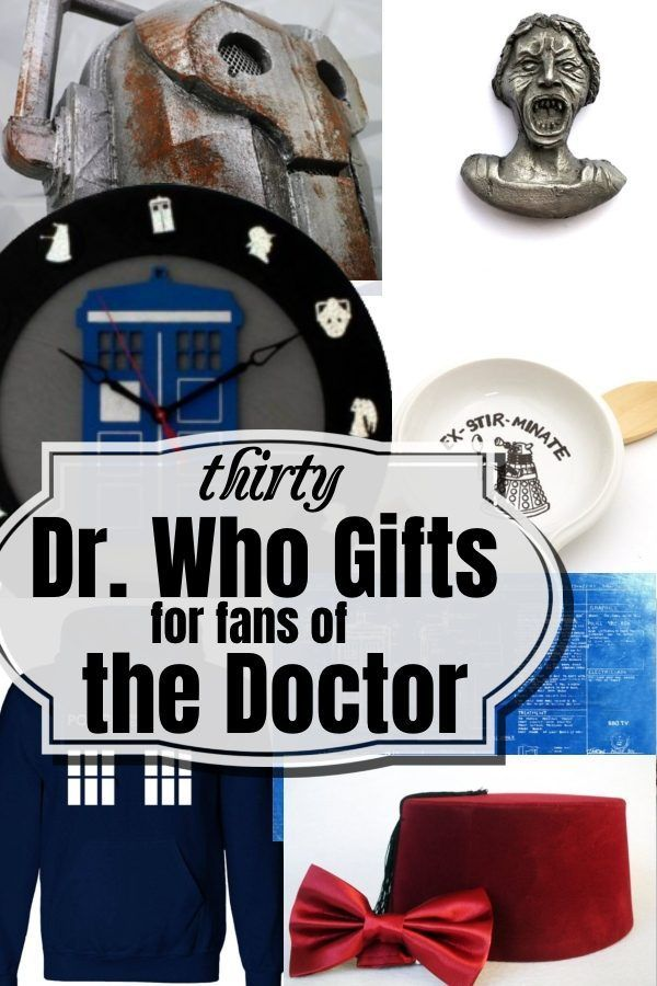Dr Who Gifts For Fans Of The Doctor Doctor Who Gifts