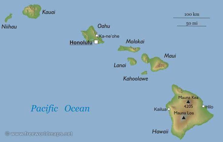 Гавайи штат : флаг штата Гавайи Гавайи (англ. Hawaii) — штат США. Расположен на Гавайских островах в центре Тихого океана в Северном полушарии на расстоянии 3700 км от континентальной части США. Население — 1 283 388 человек (состояние на 2008 г.), в том числе гавайцы (26 %)