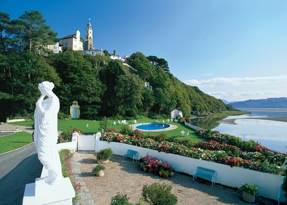 Portmeirion hotel, North Wales