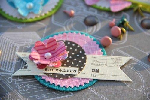 Comme promis à toutes celles qui ont participé aux Kési'Sessions 2012 voici enfin les visuels des petits embellissements et tag proposés: A bientôt Bizzzzzzzz Magali