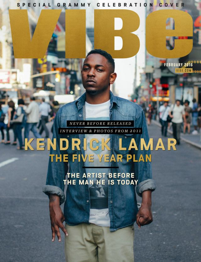 VIBE's New Digital Cover Story Is A Candid Convo With Rap's Young King Kendrick…