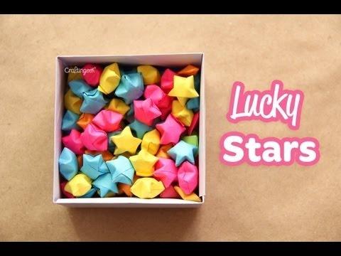 Estrellitas Infladas // Lucky Stars How-to