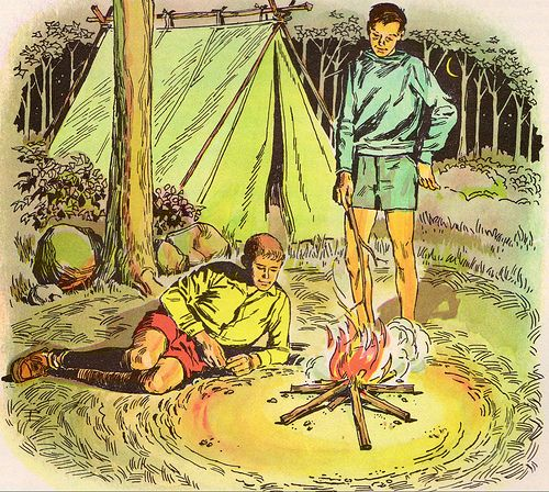Illustration Camping | ... Related: Vintage Camping ...