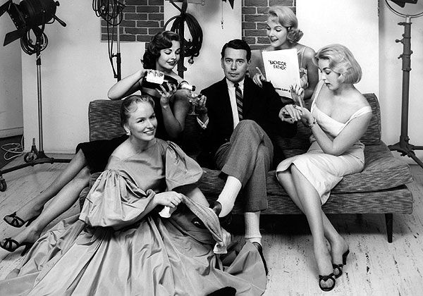 """John Forsythe played a lawyer whose life was flooded with beautiful women on """"Bachelor Father."""" (CBS)"""