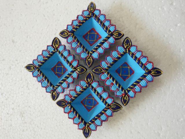 Get handmade #diya for you home decorative online from #craftshopsindia