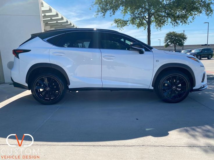 "2020 Lexus NX300 FSport with 20"" TSW Aileron wheels 2020"