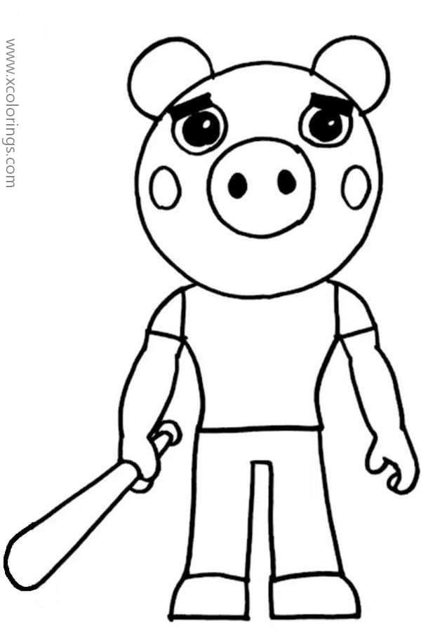 Piggy Roblox Coloring Pages George Cool Coloring Pages Coloring Pages Roblox