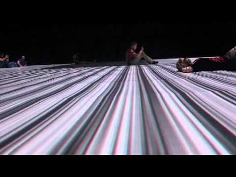 "Ryoji Ikeda's audio and visual installation: ""the transfinite"" at the Park Avenue Armory"