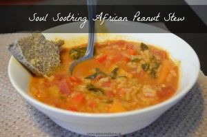 Soul Soothing African Peanut Stew - Eat | Move | Thrive
