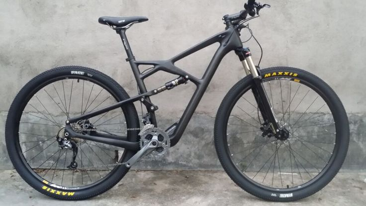 Hot sale ! Carbon Suspension Bicycle,29er Mountain Bike Carbon Complete Suspension Bike 15 17 19 inch sospensione bici
