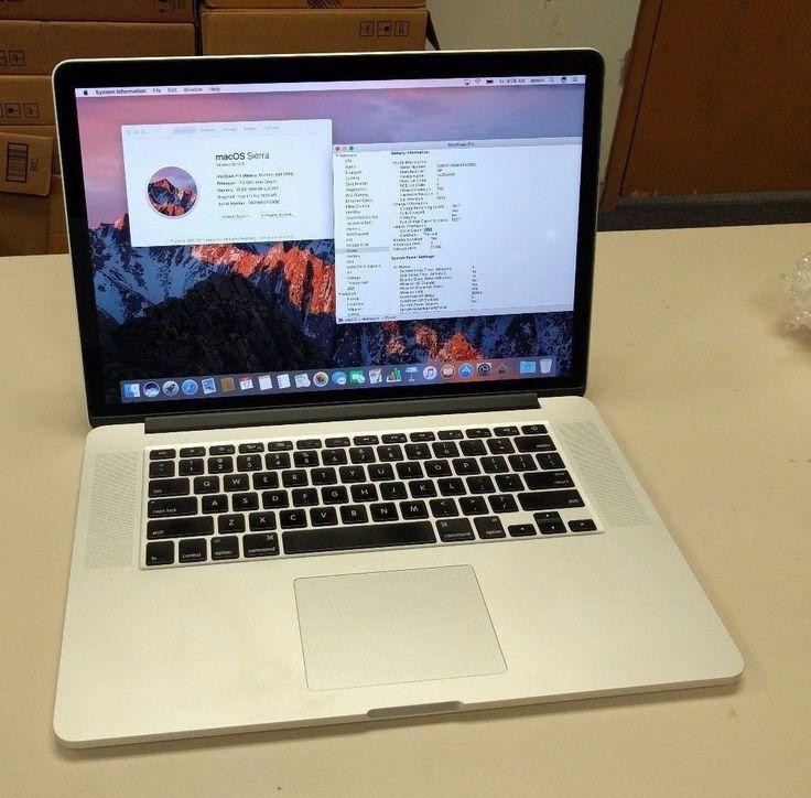 """Apple MacBook Pro Retina 15"""" i7 / 16GB / 256GB SSD / MGXA2LL 2014 (A Grade)"""