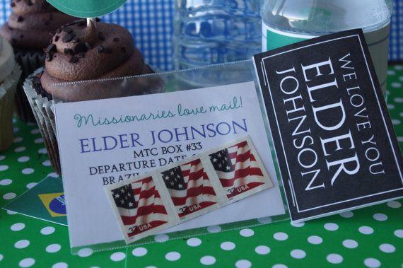 Customized LDS Elder Missionary Farewell or Welcome por MeckMom