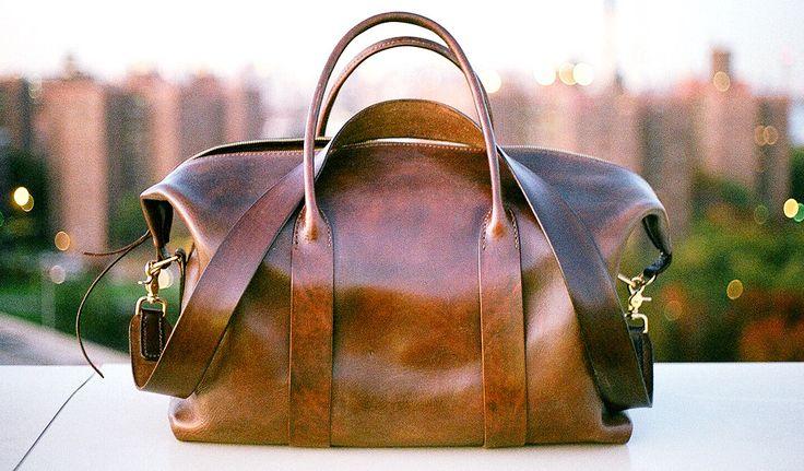 The @Cavalier Original Leather Duffle. — Cavalier on the web: http://cavalieressentials.com Store: Cavalier Shop / Twitter: @Cavalier / Tumblr: Journal