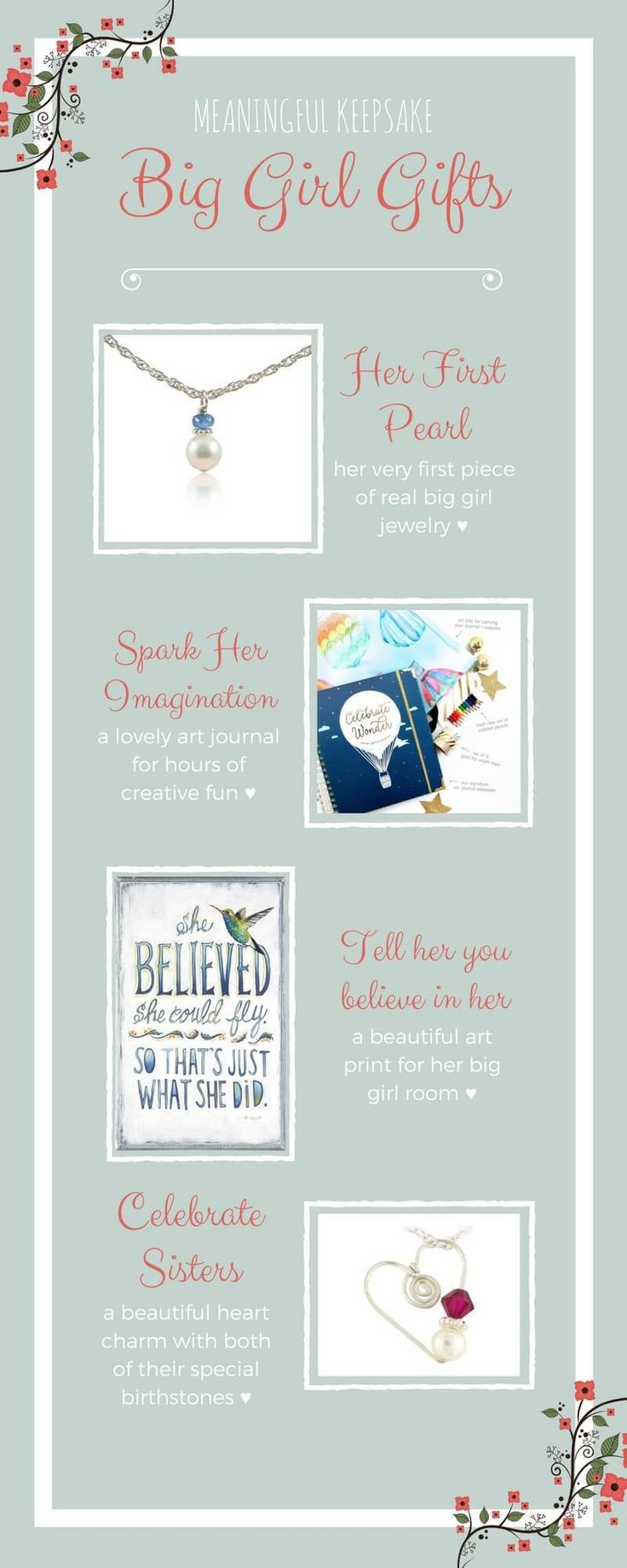 Gifts for When She's a Big Girl | Little Girls Pearls