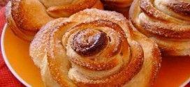 Вкусное и красивое лакомство для маленьких и больших сладкоежек! Детские творожные булочки «Розочки»Какие же они вкусные, не возможно остановиться!