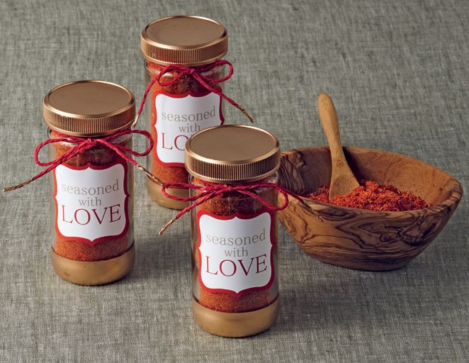 DIY Wedding, edible favors, BBQ spice rub, printable, label