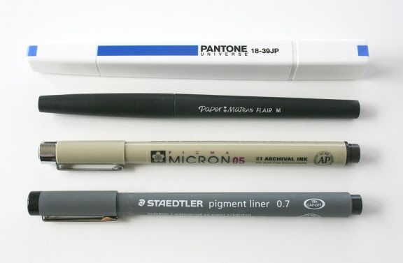 stephmodo: Pantone Markers + other Favorite Pens