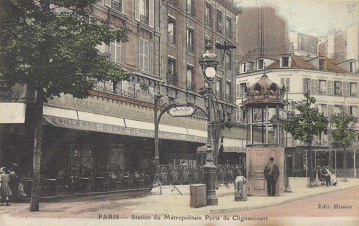 porte de Clignancourt station du metro
