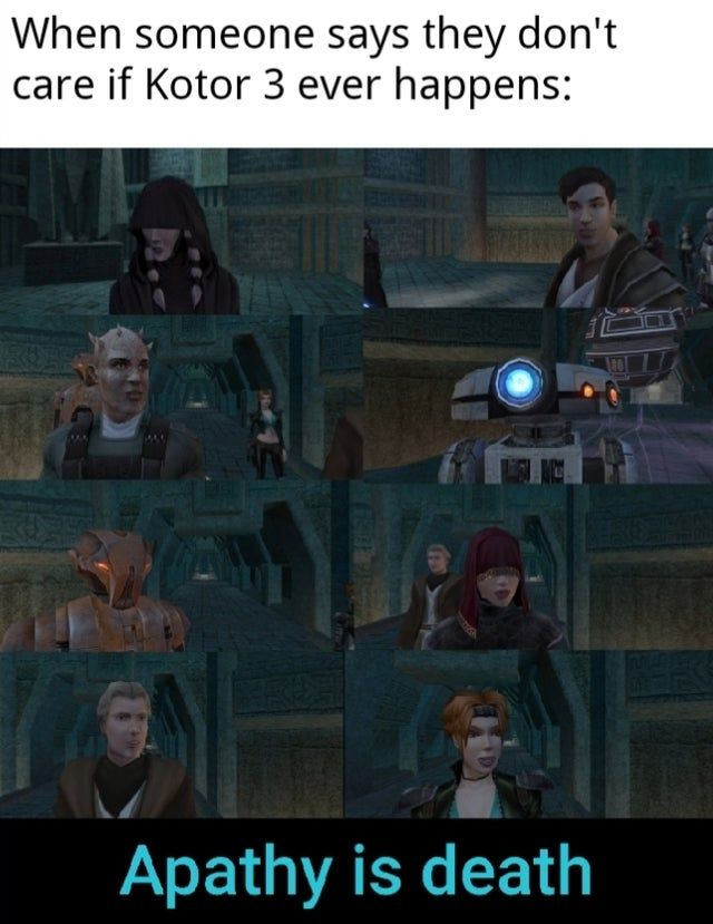 Now Die Kotormemes The Old Republic Star Wars Mmo