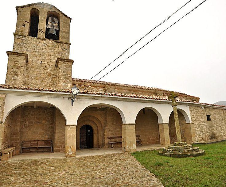 Iglesia de San Esteban, Muruarte de Reta, Navarra, Camino Aragonés