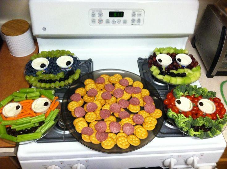 Teenage Mutant Ninja Turtles Veggie and Fruit Trays Double ...