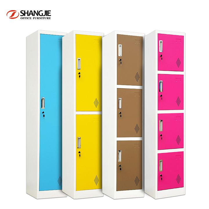 Clothes Locker Uniform Locker Wardrobe Locker Tier Metal Lockers Tier Steel Storage Locker Steel Compartmentalized Locker Storage Clothes Cabinet Storage