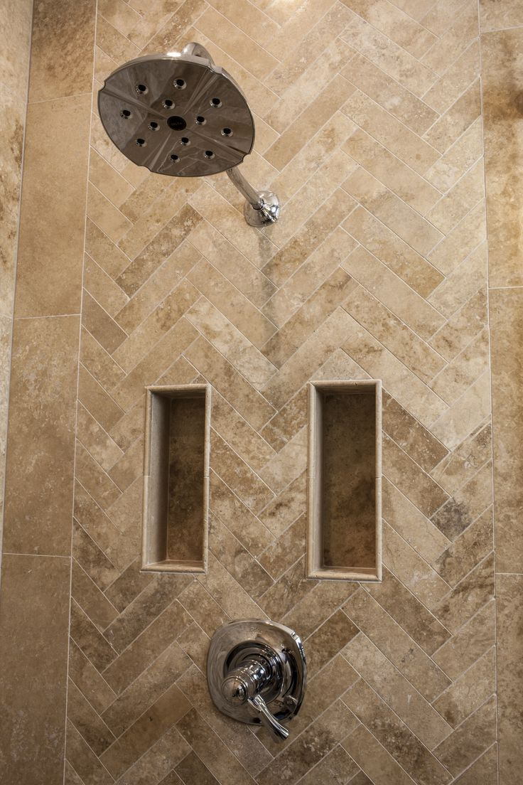 Lapierre cabinetry custom home theater cabinets bathroom cabinets - A Herring Bone Travertine Tile Pattern Thetileshop