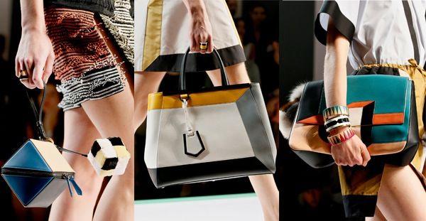 Arrivano le nuove borse Fendi Primavera estate 2013