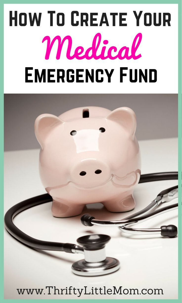 How To Create Your Emergency Medical Fund. Creating a medical emergency fund is easier than you think and having one when you need helps keep your family finances healthy.