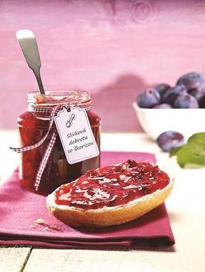 Slivkový džem Ako stvorený pre milovníkov sliviek