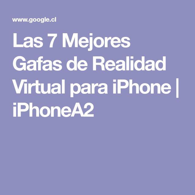Las 7 Mejores Gafas de Realidad Virtual para iPhone | iPhoneA2