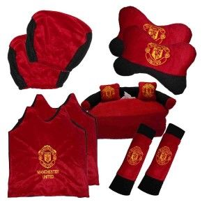 Car Set 5 in 1 Club Manchester United | Harga Grosir - Grosir Tas Murah,Tas Anak,Dompet Wanita,Grosir Sprei,Bantal Mobil,Bantal Selimut
