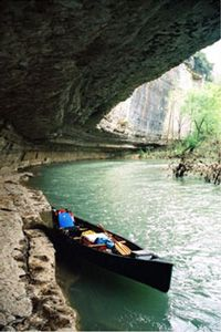 My only river-floating experience...2003 in NW Arkansas. Fun!