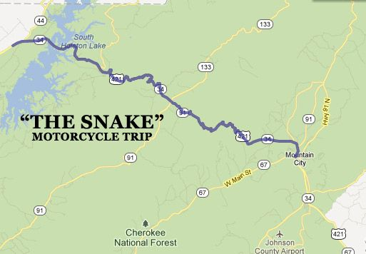 """the snake hwy tennesse 