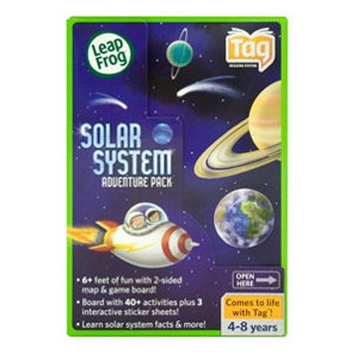 15 Leapfrog Tag Solar System Adventure Pack English Edition Leapfrog Toys