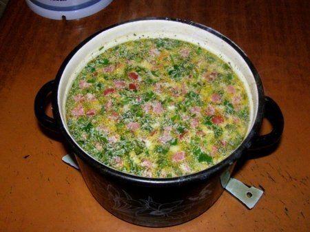 Горячий сырный суп с колбасой / IPv2 - Глобальная информация